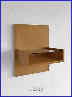 1950 Andre Simard Tete De Lit & Chevets Moderniste Bauhaus Constructiviste