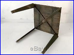 1950 Jean Prouve Table Firminy Moderniste Bauhaus Forme-libre Constructiviste