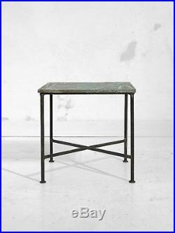 1950 LES 2 POTIERS TABLE BASSE CERAMIQUE MODERNISTE BAUHAUS Vallauris