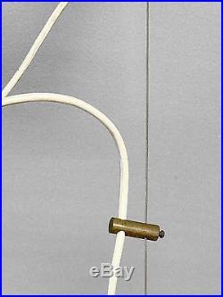 1950 Stilnovo Lustre Moderniste Bauhaus Forme-libre Space-age Arteluce
