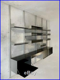 1960 DIETER RAMS ETAGERE & CLAUSTRA 606 VITSOE Moderniste Bauhaus Memphis
