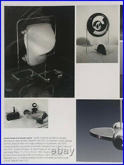 1970 BORIS TABACOFF PIERRE CARDIN LAMPE POST-MODERNISTE LUCITE SPACE-AGE Rizzo
