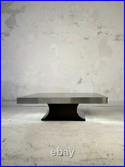 1970 KAPPA TABLE BASSE POST-MODERNISTE SPACE-AGE Michel Boyer Willy Rizzo
