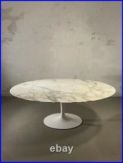 1970 KNOLL EERO SAARINEN GRANDE TABLE TULIP MARBRE SPACE-AGE Mangiarotti