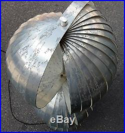 1970' Lampadaire Moon, Henri Mathieu 3 Sphères