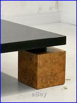 1970 NADINE CHARTERET GRANDE TABLE BASSE MODERNISTE MEMPHIS Maria Pergay