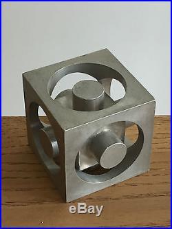 1970 SCULPTURE CINETIQUE MODERNISTE BRUTALIST FORME-LIBRE Abstraction