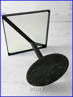 1980-1990 Pallucco Table Basse Moderniste Bauhaus Memphis Constructiviste