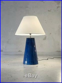 1980 LAMPE CERAMIQUE POST-MODERNISTE MEMPHIS CONSTRUCTIVISTE BAUHAUS Sottsass