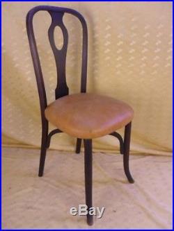 4 CHAISES 1900 / ART-NOUVEAU /chair/sillaBROCANTICANTIQUITÉS/BROCANTE/OCCASION