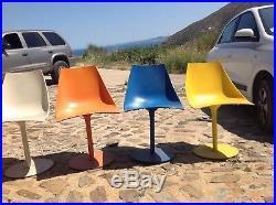 4. Chaises résine couleur Mondrian // prix en baisse 50%