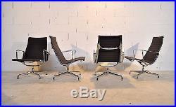4 Fauteuils Eames Ea 115 Vitra Herman Miller Années 80