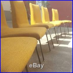 6 chaises Pierre Paulin