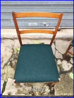 6 chaises Super Leggera de Gio Ponti édition Cassina circa 1950