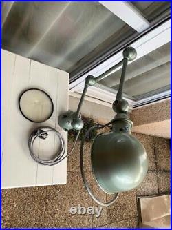 ANCIENNE LAMPE D'ATELIER JIELDE 3 bras 25 cm état parfait