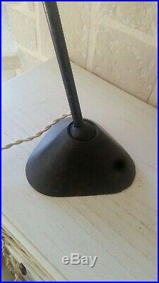 ANCIENNE LAMPE GRAS 205 LAMPE INDUSTRIELLE LAMPE DATELIER DESIGN vintage