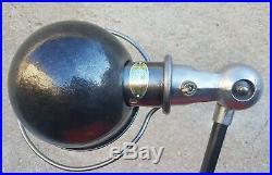 ANCIENNE LAMPE VINTAGE JIELDE A 3 BRAS 40 cm RENOVEE USINE ATELIER LOFT BISTROT