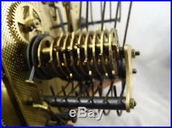Ancien Carillon Odo Westminter 10 Marteaux Tiges Pendule Horloge Clock Pendulum