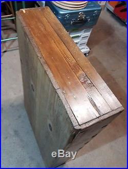 Ancien Meuble de métier 19ème 9 tiroirs Shabby chic, industriel, usine, loft