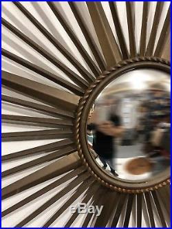 Ancien Miroir de sorcière des Années 60's 70's Soleil CHATY Vallauris vintage 4