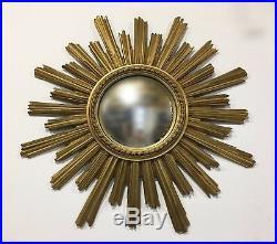 Ancien Miroir de sorcière des Années 70's Vintage Soleil no CHATY Vallauris
