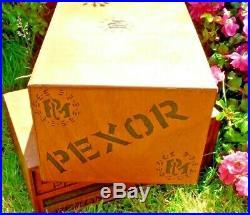 Ancien Rare Meuble De Métier En Bois 2 Tiroirs Pezon Michel-redoutable-pexor
