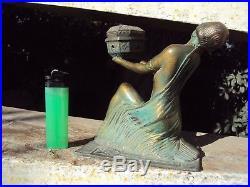 Ancien brûle parfum régule art-déco