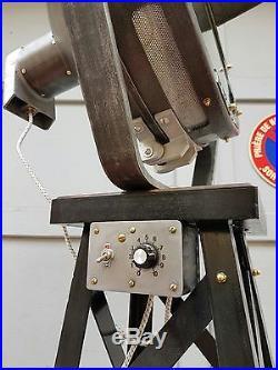Ancien projecteur BBT PARIS /usine industrielle atelier loft vintage lampe/