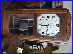 Ancien rare Carillon ODO 36 10 BARS x 10 GONGS 2 Airs clock horloge pendule