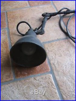Ancienne Authentique et RARE Applique Lampe Gras n° 303 old lamp gras vintage