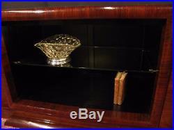 Ancienne ENFILADE DÉPOQUE ART DÉCO en palissandre meuble vitrine buffet tv