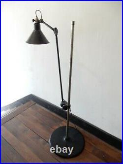Ancienne Lampe Atelier LAMPADAIRE GRAS RAVEL 215 Floor Lamp Le Corbusier 192030