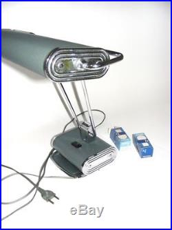 Ancienne Lampe Bureau Eileen Gray Jumo Moderniste N 71 Design Lamp Vintage Art