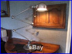 Ancienne Lampe JIELDE 4 bras de 40cm 100% vintage