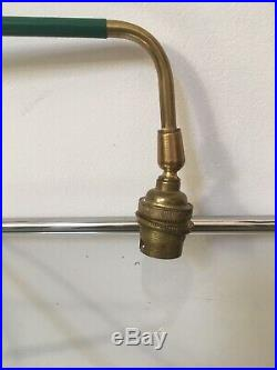 Ancienne Lampe Potence Articulée Ventage Fonctionne En Très Bon État