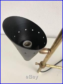 Ancienne Lampe Vintage / Design Stilnovo Arteluce Moderniste Metal / Laiton 50