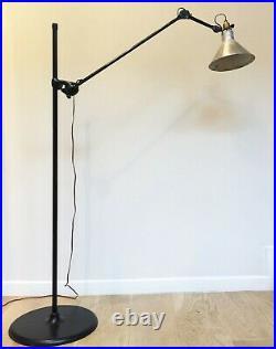 Ancienne Lampe atelier lampadaire GRAS 215 SGDG Floor Lamp era Le Corbusier 1920