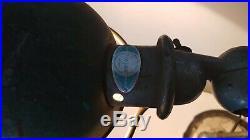 Ancienne Lampe industrielle articulée JIELDE 2 Bras complète