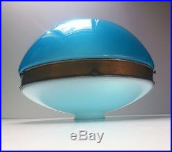 Ancienne Lampe plafonnier lustre Art Deco Bauhaus ILRIN Nival ceiling lamp 1930
