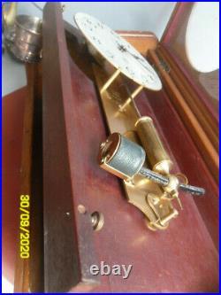 Ancienne Pendule Electrique ATO, Léon Hatot