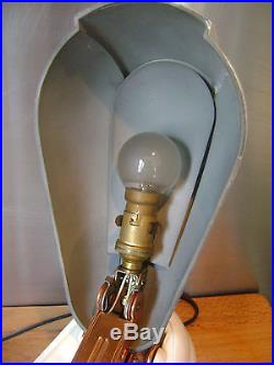 Ancienne Rare Lampe Jumo Bakelite Bolide Moderniste Vintage Année 40 Art Deco