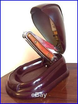 Ancienne Rare Lampe Jumo En Bakélite Design Art Tres Deco Lamp