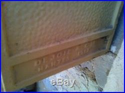 Ancienne boite aux lettres PTT LA POSTE 1961 DEJOIE deco loft industriel