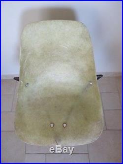 Ancienne chaise René Jean CAILLETTE french fiberglass chair design 1957 STEINER