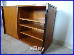 Ancienne étagère charlotte perriand bookshelf le corbusier 1950 prouvé bookcase