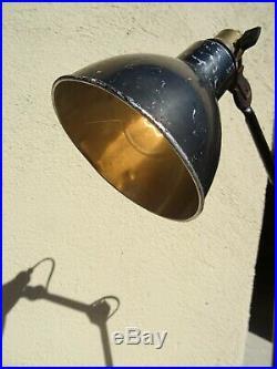 Ancienne lampe GRAS 202 atelier workshop desk light jielde LE CORBUSIER design
