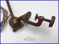Ancienne lampe GRAS d'atelier bureau industriel vintage a restaurer pas jielde