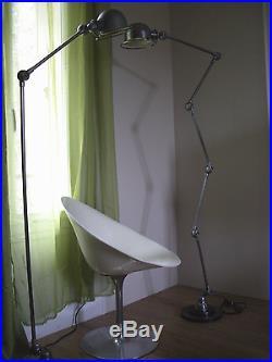 Ancienne lampe Jieldé-jld-5 bras Atelier/Bureau/Industriel