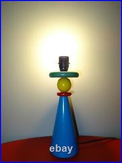 Ancienne lampe de bureau sotsass memphis milano