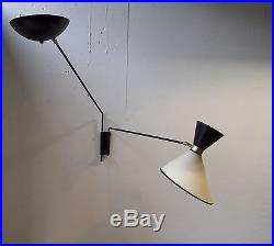 Applique 1950 lampe light mid century 50's vintage